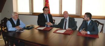 El Conselh signa un conveni de col•laboració amb la Fundació Centre Europeu d'Empreses e Innovació de Lleida