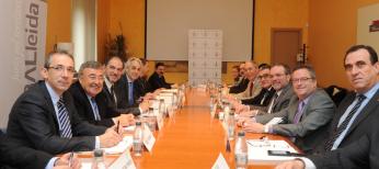 El Diputat Pau Perdices assisteix al Comitè Executiu de GlobaLleida