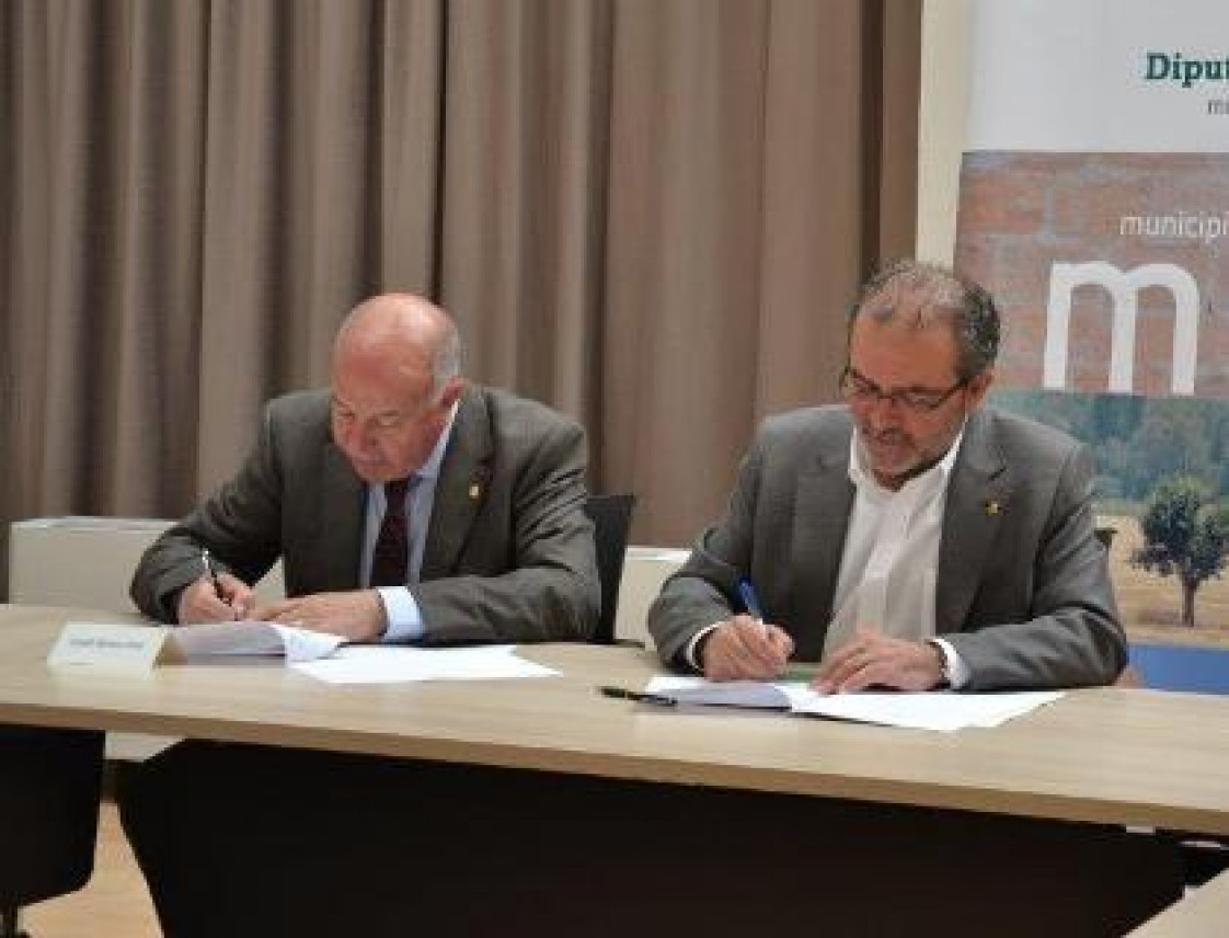 Era Deputacion de Lleida e eth Conselh Generau d'Aran signen eth convèni annau entara assisténcia as municipis e ara contractacion d'interventors
