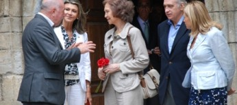 S. M era Reina Doña Sofia verifique coma era Val d'Aran recupère era normalitat