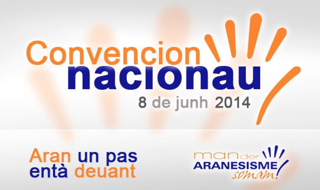 Eth pròplèu dimenge dia 8 de junh, Convencion Nacionau de Convergéncia Democratica Aranesa